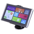 7 Android GPS CPU Quad Core Car Truck Navigator North Americ ...