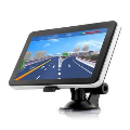 704 Portable 7 Touch Screen Truck Car GPS Navigation South A ...