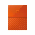WD HDD - HARD DISK EXTERNAL 2.5 2TB MY PASSPORT 2017 ORANGE( ...