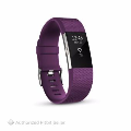 FITBIT CHARGE 2 PLUM SILVER SMALL